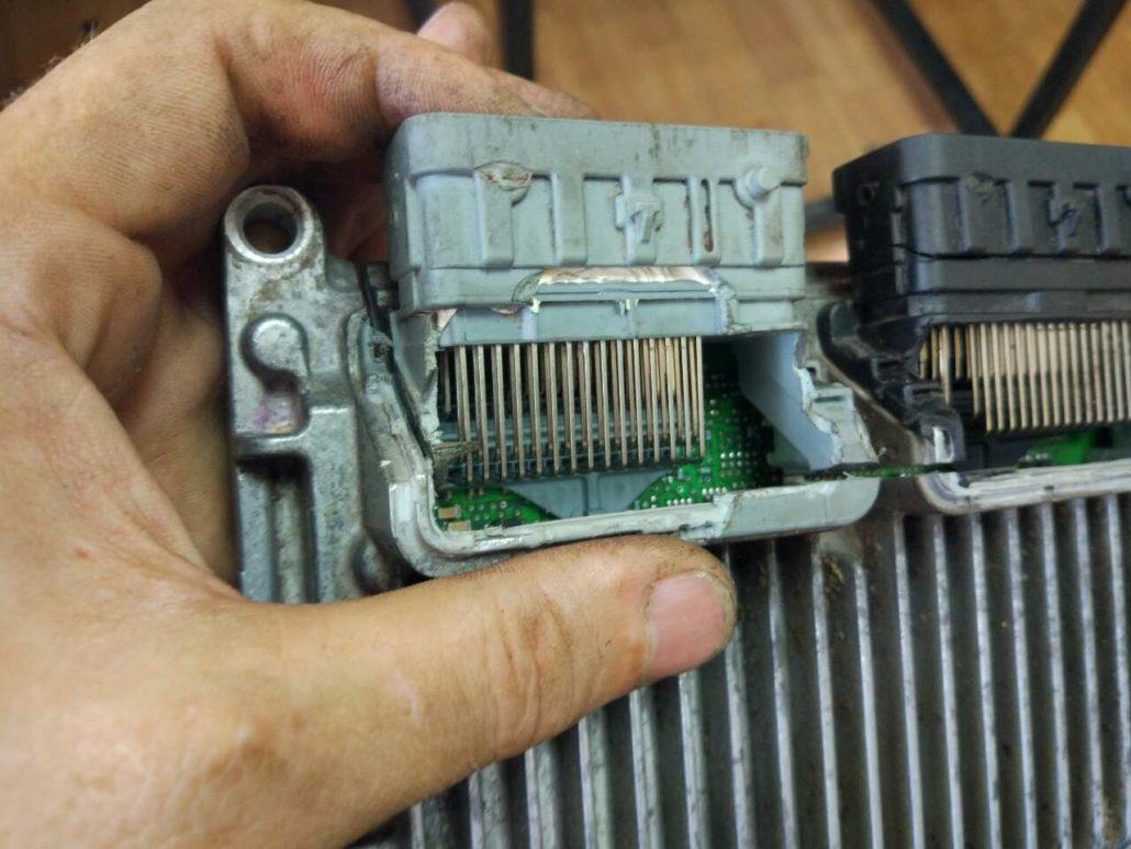 Дефект и неисправность блока двигателя